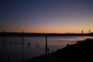 columbia river sunset 003